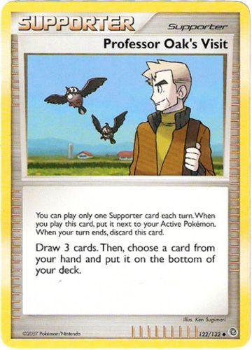 Professori Oak Visit hinnat   Pokemon Card hinnat