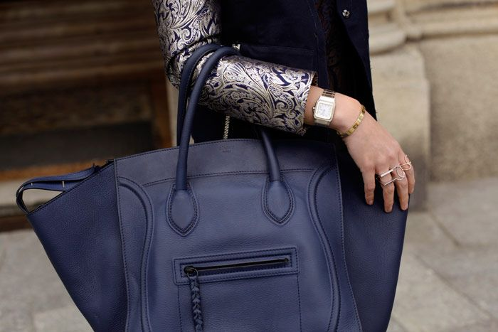 Navy Winged Bag on Pinterest   Celine, Celine Bag and Classy