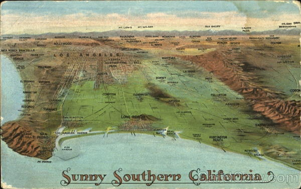 sunny southern california essay Free essay: california, i have found it, according to their state motto a land plentiful in beauty the north houses massive fields, ideal for harvesting.