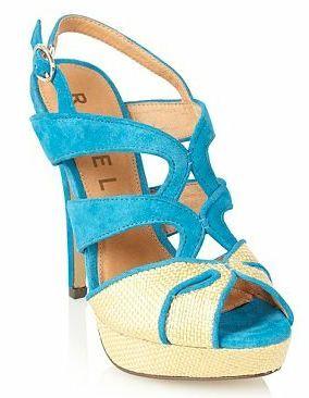 Ravel turquoise sandals