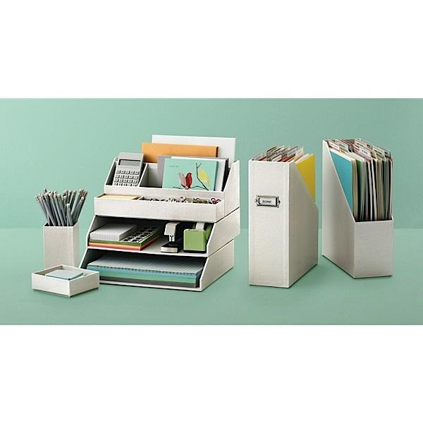 1000 images about desk arrangement ideas on pinterest - Martha stewart desk organizers ...