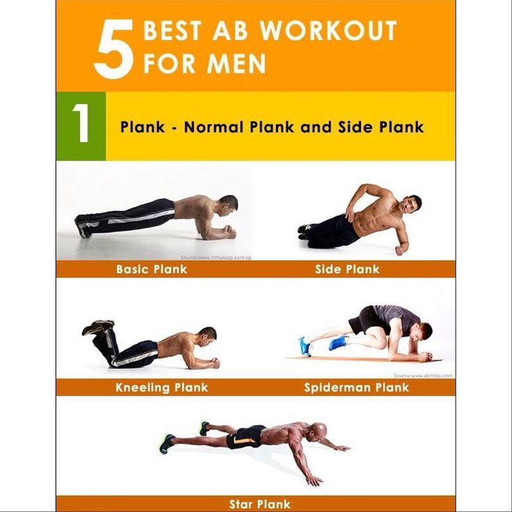 Man Workout: 1000+ Ideas About Ab Workouts For Men On Pinterest