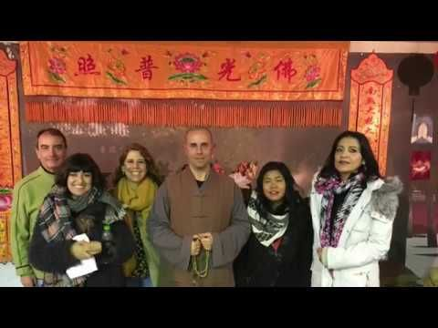 Shaolin Temple Greece 希腊少林寺| Chinese New Year 2017.