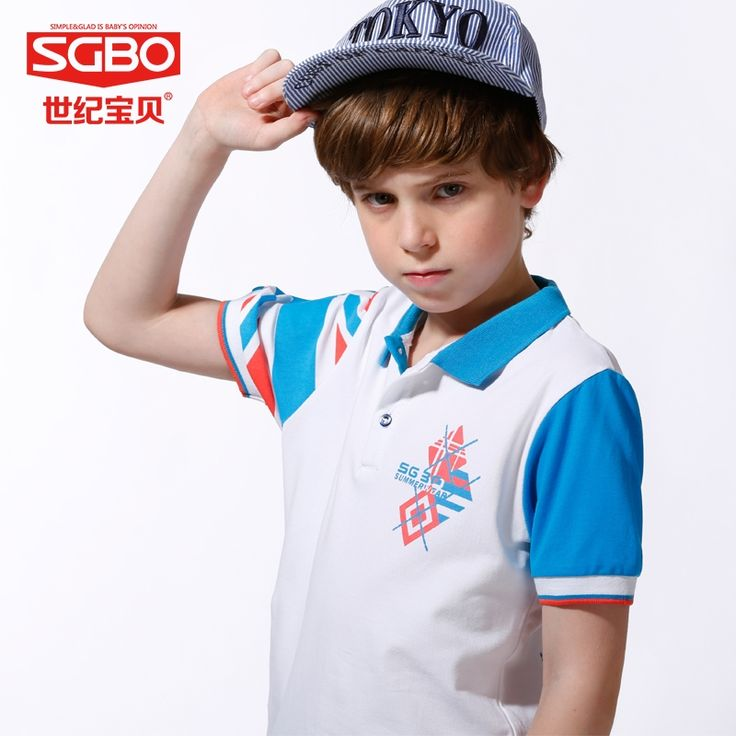 31.72$  Buy here - http://aliggw.shopchina.info/go.php?t=32442245891 - 150-165cm England Style Brand T shirt Boys T-shirts Kids Polo Shirts Children Classic Sport Tees Short Sleeve Clothing 7D3053 31.72$ #magazineonlinebeautiful