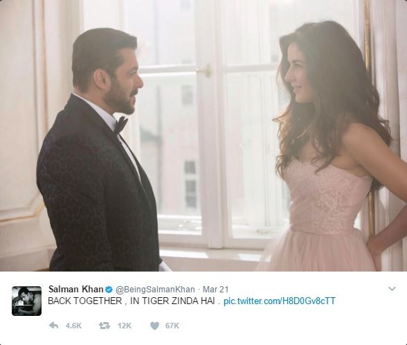 The Sultan of Bollywood Salman Khan is filming his forthcoming film Tiger Zinda Hai with Katrina Kaif, which is a sequel to a 2012 hit Ek Tha Tiger, based on the love story between spy of RAW (Salman) and spy of ISI (Katrina) during their investigation. Tiger Zinda Hai is being directed under the direction by Ali Abbas Zafar, who has also made movies like Gunday and Sultan.