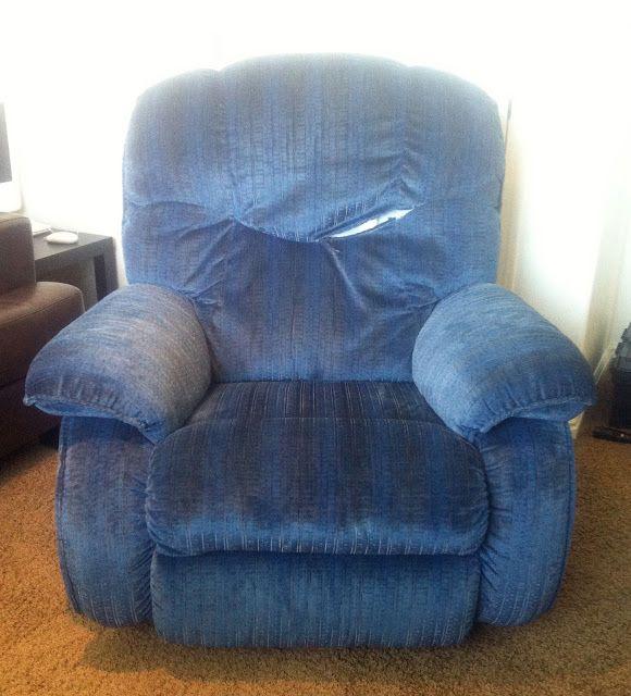 Reupholstered lazyboy tutorial
