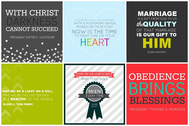 All Things Bright and Beautiful: General Conference printables- April 2013 Sunday Session