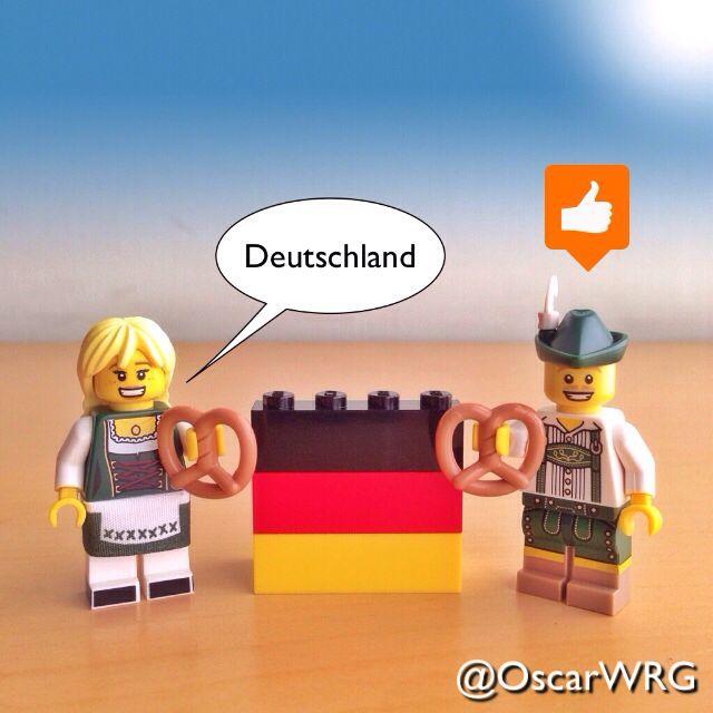 #LEGO #Deutschland #Lederhosen #Brezel #Pretzel #Germany #LEGOcup2014 #SoundOfMusic @LEGO