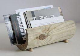 DIY-Anleitung: Minimalistischen Briefhalter aus Holz bauen via DaWanda.com