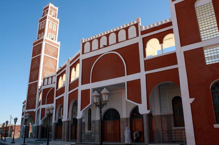 Mosque, Adrar, Algeria.