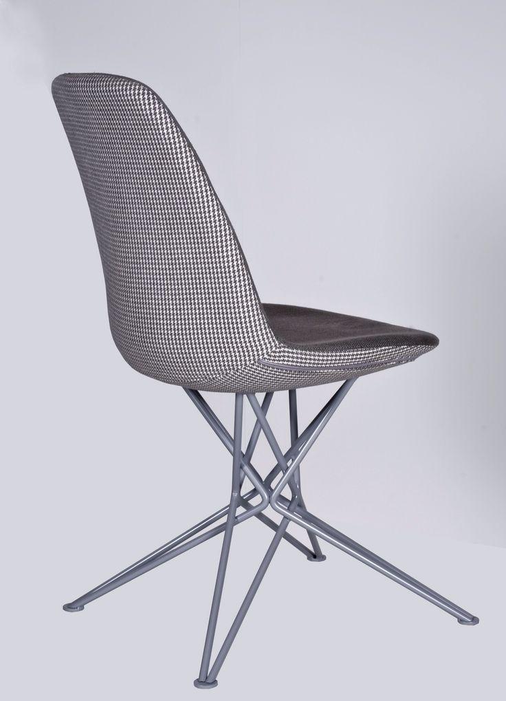 Chair metallic C312-PLEXIS design by Manolis Giannouladis for #furnitureunico