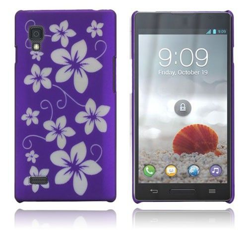 Flowers (Purple) LG Optimus L9 Case