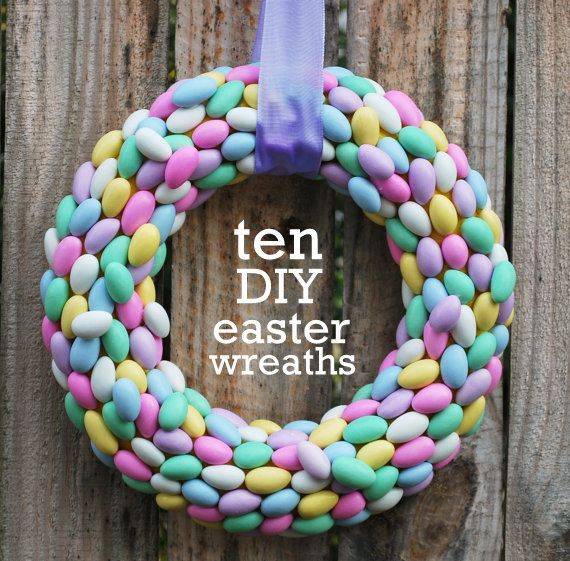 10 DIY Easter Wreaths | Spoonful