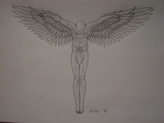 Guardian angel tattoo. | Men's Fassion and Accessories ...
