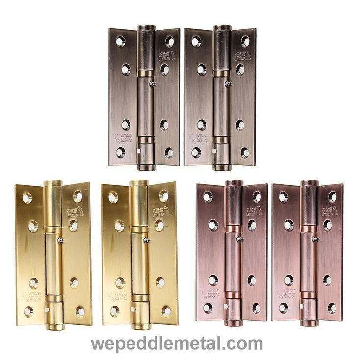 2017 New 2pcs/set Stainless Steel Cabinet Closet Door Hinges 90 Degree Self Closing For Home Bathroom Furniture Hardware