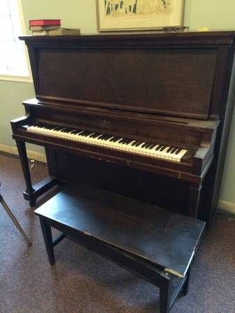 P.S. Wick Cabinet Grand Piano | Free Old Pianos | Pinterest ...