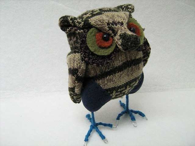 Little Sweater Owl--what a handsome guy