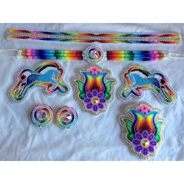Image result for powwow beadwork