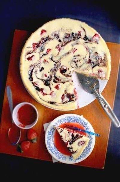 Как приготовить ягодный чизкейк свирль. - рецепт, ингридиенты и фотографии