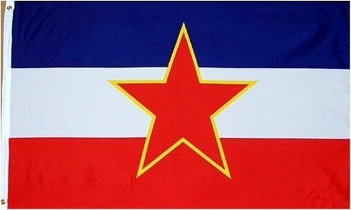 Yugoslavian National Country Flag