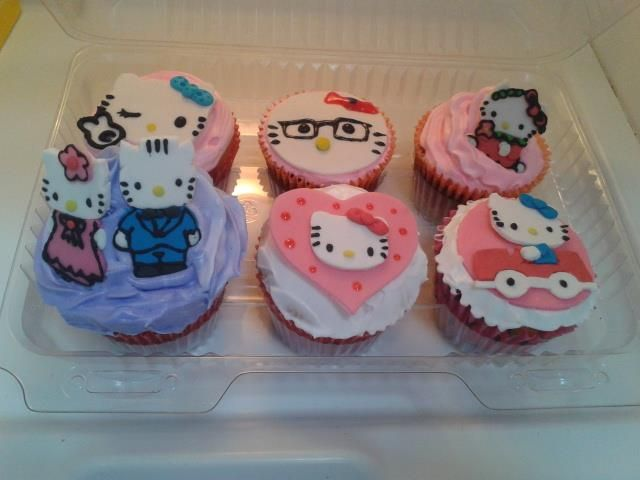 Cupcake Hello Kitty variedad
