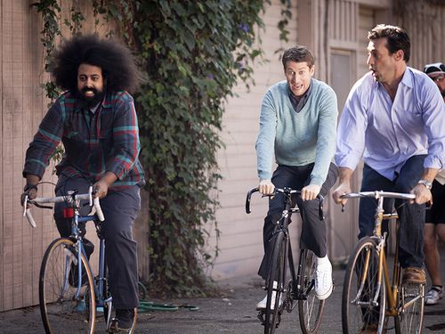 Reggie Watts, Scott Aukerman and Jon Hamm - Comedy Bang Bang.