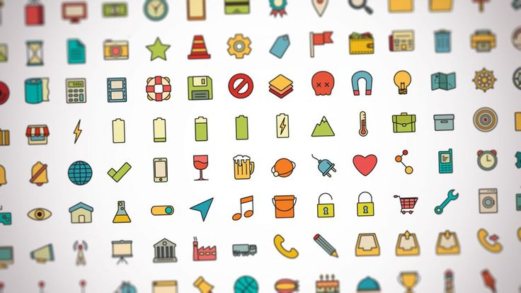 These sets of free icons will make a great addition to your arsenal and help to grab the user's attention.