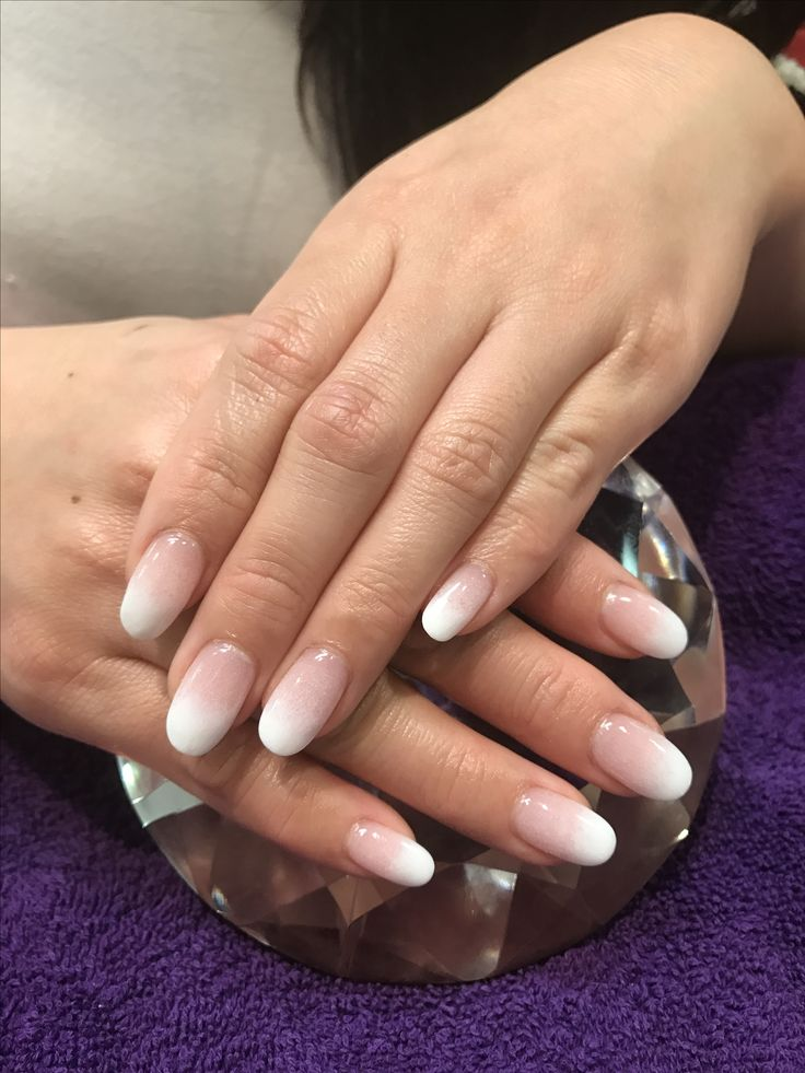 Ombr 233 French Dip Nails Dipped Nails French Tip Nails