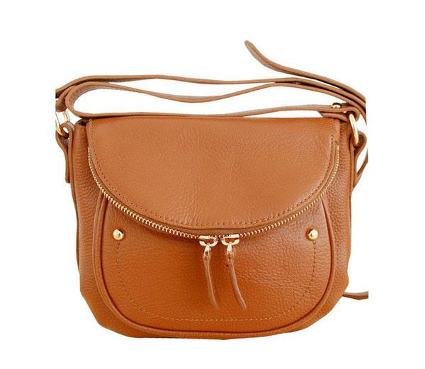 Brown Leather Satchel Bags for Women's