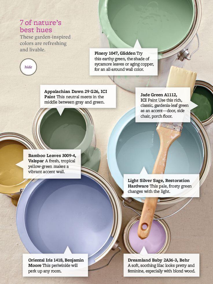 colour palette - natures best