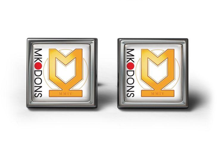 Milton Keynes Dons FC Cufflinks | ourcufflinkshop.co.uk