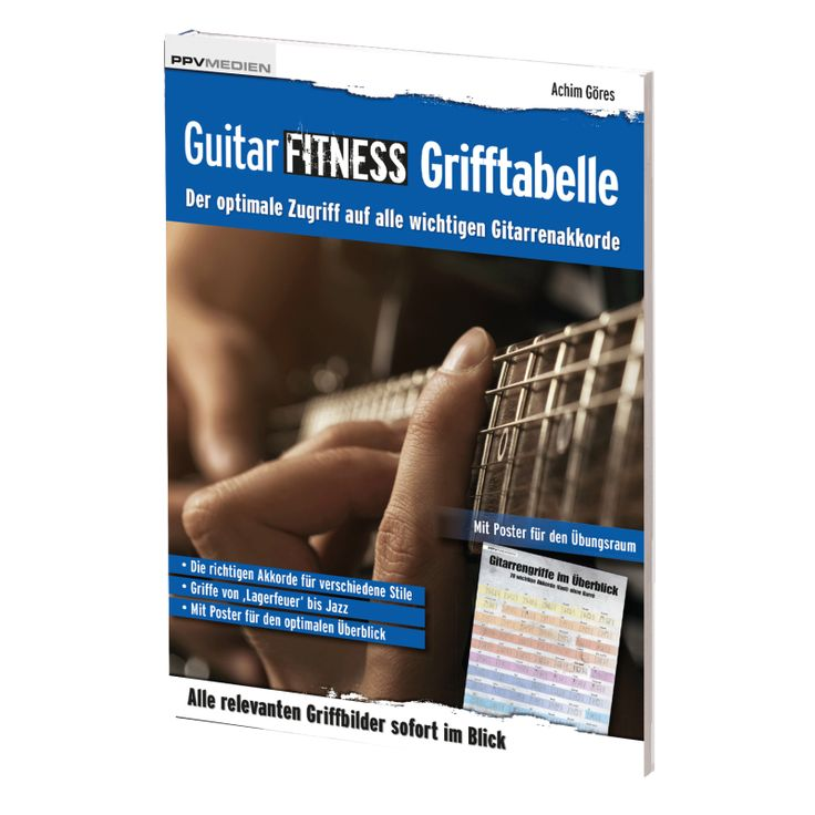 Guitar Fitness Grifftabelle, 12,95 €
