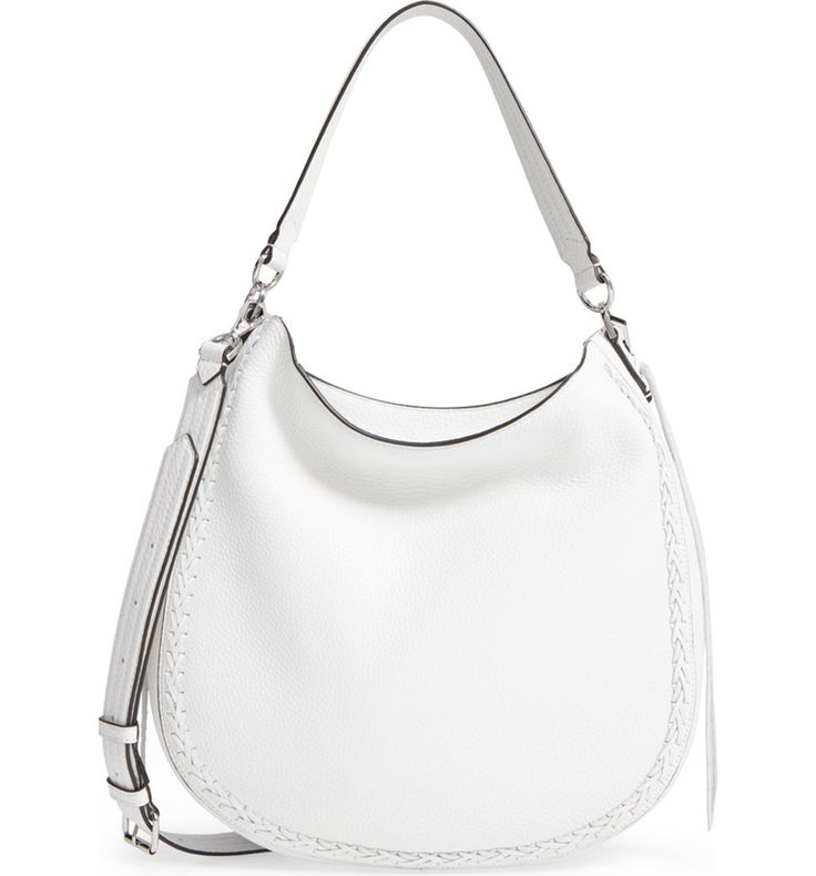 Main Image - Rebecca Minkoff Unlined Convertible Whipstitch Hobo (Nordstrom Exclusive)