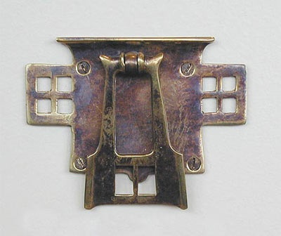 Arts And Crafts Style Drawer Pull Cupboard Pull Metal