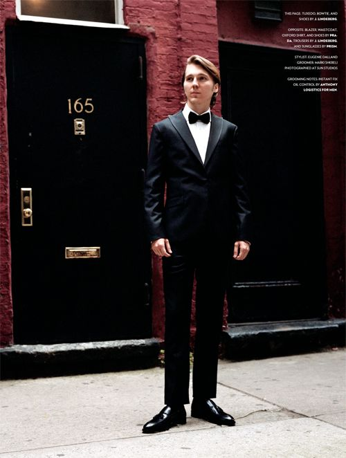 Paul Dano...black and a bow tie