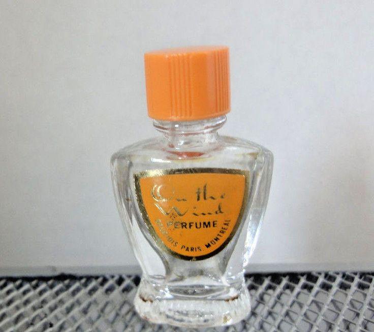 Bourjois, On the Wind Vintage Perfume Bottle Miniature Great Shape