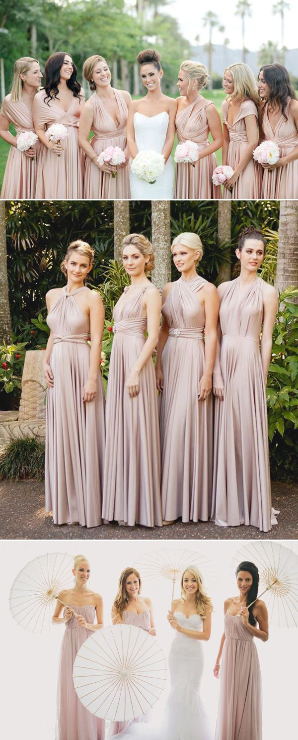 Top 5 Bridesmaid Dress Trends this Spring - Neutrals