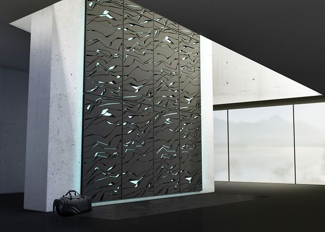Lunar Design has created one of the most beautiful climbing walls I've ever seen with 'Nova'.
