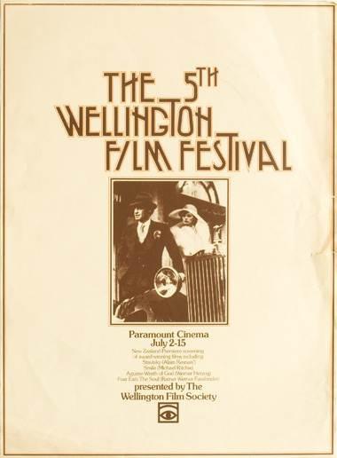 1976 #nziff New Zealand International Film Festival