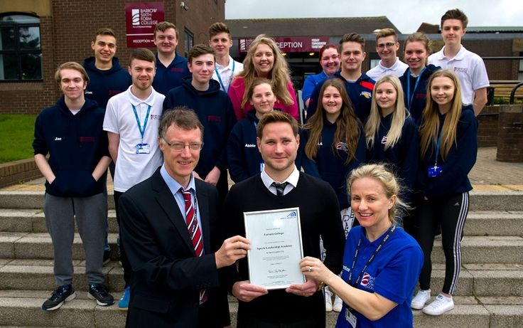 Barrow Sixth Form first in county to achieve Leadership Academy Status for sport http://www.cumbriacrack.com/wp-content/uploads/2017/04/sports-leader-award.jpg Staff and students are celebrating after Barrow Sixth Form College became the first in Cumbria