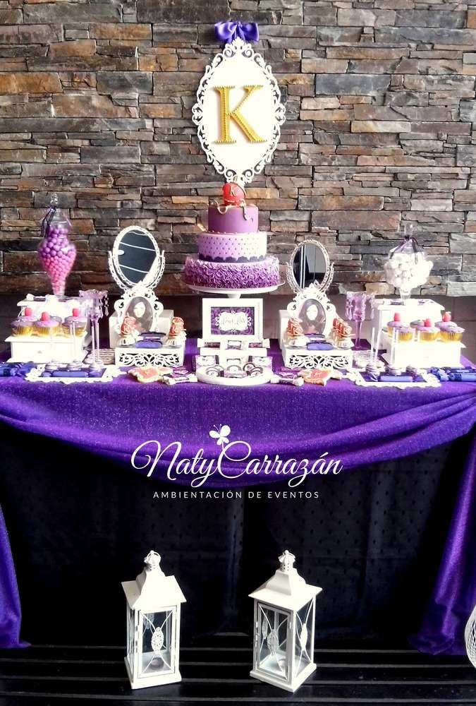 Descendants.Maleficent's daugther Birthday Party Ideas   Photo 6 of 15   Catch My Party