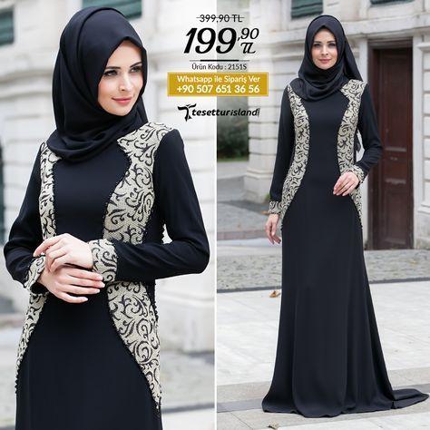 Tesettürlü Abiye Elbise - Siyah Abiye Elbise #tesettur #tesetturabiye #tesetturgiyim #tesetturelbise #tesetturabiyeelbise #kapalıgiyim #kapalıabiyemodelleri #şıktesetturabiyeelbise #kışlıkgiyim #tunik #tesetturtunik