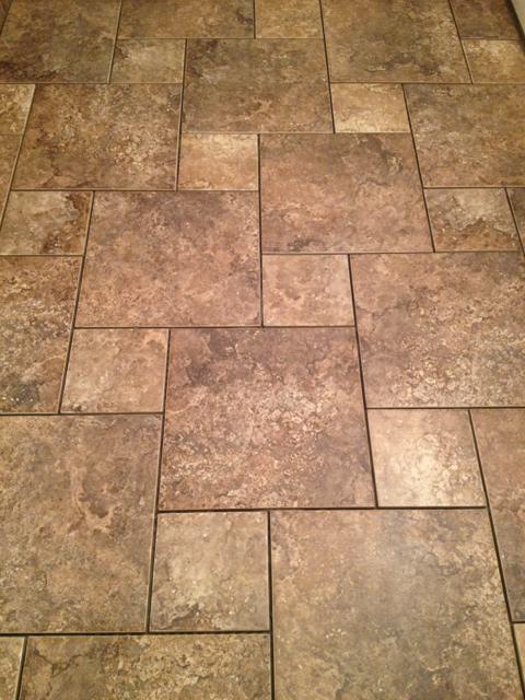 finished the brandon florida u0026 pinwheel pattern bathroom floor tile
