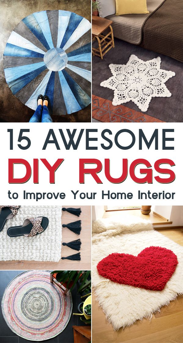 Best Tappeti Images On Pinterest Crochet Rugs The Hook And - Diy rugs projects