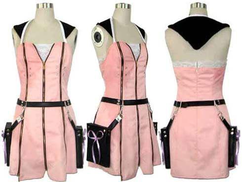 Oasis Costume - Kingdom Hearts II Kairi outfit Kairi cosplay costume Kairi dress, $80.00 (http://www.oscostume.com/136)