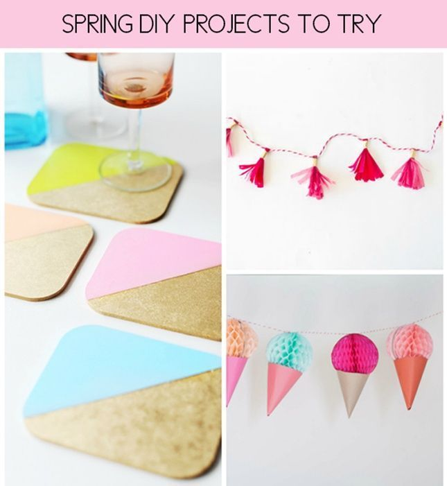 Fun and fresh spring DIY projects to try