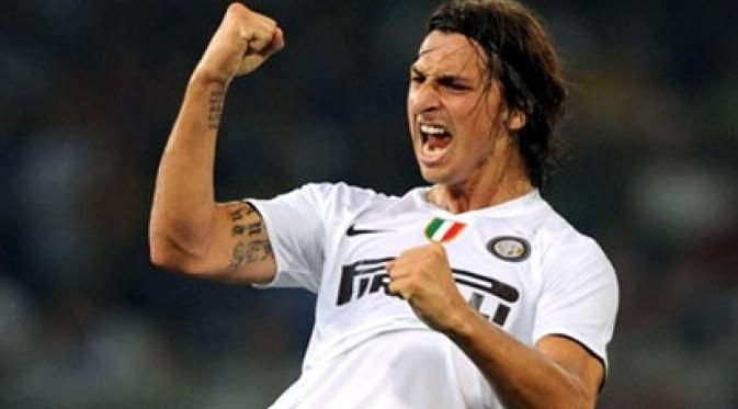 Zlatan Ibrahimovic menyelesaikan musimnya di Giuseppe Meazza sebagai top skor Serie A