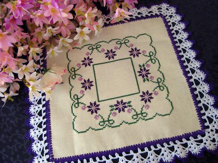 Love the purple by DoilyMania on Etsy, $20.00