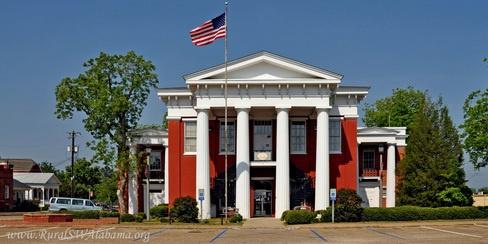 Wilcox County courthouse -- Camden, Alabama
