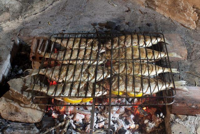 Sardinas, la trucha atlántica, la trucha arcoiris, la merluza negra y la sierra son cinco de los mejores pescados para asar a la parrilla.